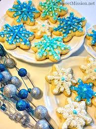 snowflake sugar cookies snowflake sugar cookies my sweet mission