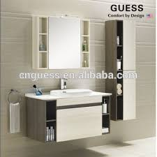 Waterproof Bathroom CabinetSolid Wood Bathroom VanityGb - Bathroom wood vanities solid wood