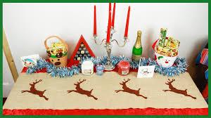 make christmas table runner diy christmas reindeer table runner xmas crafts youtube