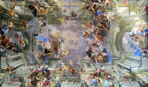 Ceiling Art Pozzo Glorification Of Saint Ignatius Sant U0027ignazio Youtube
