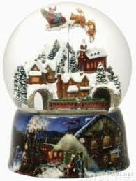 large musical snow globe gift moving moving santa s