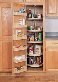 sensational lazy susan pantry storage with pantry door mounted