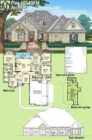 outstanding side load garage house plans warren ii fp 0 corner lot