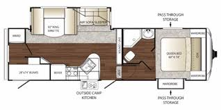 Outback Campers Floor Plans Full Specs For 2011 Keystone Outback Sydney Edition 275fbh Rvs