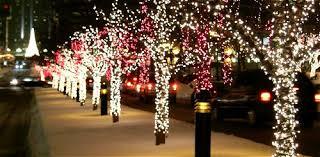 winter lights on mcgill college avenue the blork