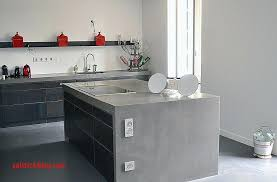 pour plan de travail cuisine beton cire pour plan de travail cuisine carrelage plan de travail