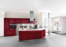 high gloss kitchen designs from lomond kitchens glasgow