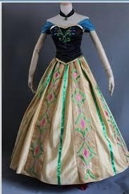 Anna Costume Coronation Anna Princess Of Frozen Disney Inspired Costume
