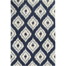 Ikat Area Rug Pier 1 Imports Ikat Rug Found On Polyvore Featuring