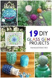 Craft Ideas For The Garden Glass Gem Garden Craft Ideas 19 Projects Gems Glass And