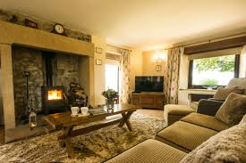 Cottage Sitting Rooms Christmas Cottage Luxury Holiday Cottage Blakelow Farm Derbyshire