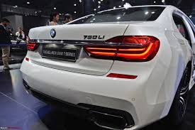 next gen bmw 7 series launched auto expo 2016 team bhp