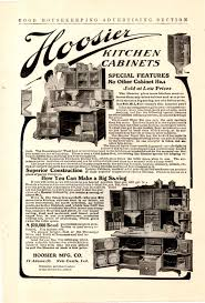 1906 hoosier kitchen cabinet ad special features what u0027s it worth