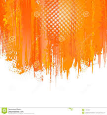 Bright Orange Paint by Orange Paint Splashes Background Vector Royalty Free Stock Photos