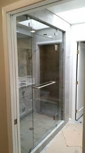 Oil Rubbed Bronze Frameless Shower Door by Custom Frameless Shower Enclosures And Shower Doors