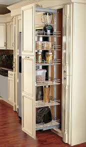 pull out tall kitchen cabinets compagnucci pantry units pull out soft close chrome maple