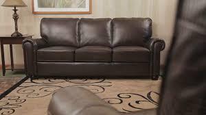 Leather Loveseat Costco 549473 Bellagio Leather Collection U0026raquo Abbyson Furniture