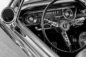 steering wheel for mustang 1965 shelby prototype ford mustang steering wheel photograph by