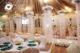 bn wedding decor great gatsby wedding in nigeria by red diamond