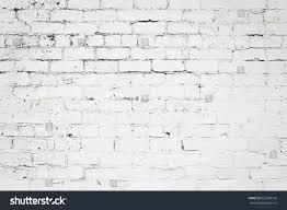 old exterior brick wall peeling white stock photo 522906166