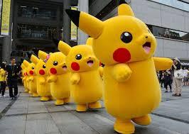 pikachu costume japanese pikachu go mascot costume fancy dress