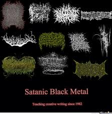 Black Metal Meme - black metal by powerglover15 meme center