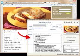 le collectionneur de recettes logiciel de recettes et créateur de