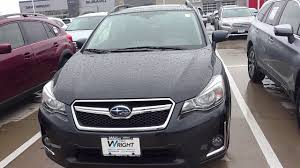 gray subaru crosstrek 2017 subaru crosstrek dark gray metallic jean youtube