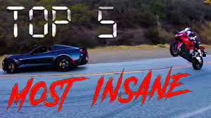 bmw supercar 90s top 5 most insane supercar vs superbike illegal street racing bmw