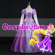 Tangled Halloween Costume Adults Cheap Tangled Rapunzel Costume Adults Aliexpress