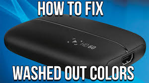 Washed Out Colors - elgato hd60 tutorial how to fix washed out colors hdmi color