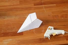 paper airplane garland diy hgtv
