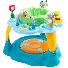 table activité bébé avec siege centre d éveil bleu de formula baby trotteurs aubert