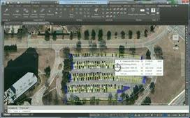 ex 06 design parking lot stalls autocad civil 3d autodesk