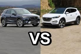 mazda suv cars 2016 mazda cx 5 vs 2016 hyundai tucson design youtube