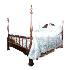 Four Poster Bed Frame Queen by Queen Size Queen Anne Style Four Poster Bed Ebth