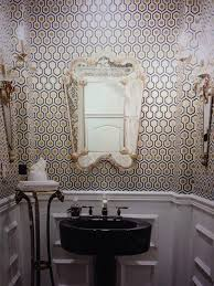 Powder Room Wallpaper by Powder Room Hicks U0027 Hexagon 95 3016 By Walnut Wallpaper By Cole