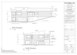 Tri Level Floor Plans Modern House Plans Slope Uphill Site P Luxihome
