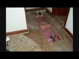 Squeaky Bathroom Floor Subfloor Repair U0026 Squeak Elimination Youtube