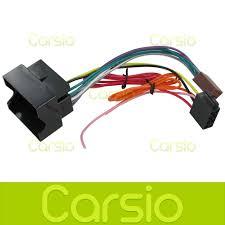 vauxhall vivaro iso lead wiring harness connector stereo radio