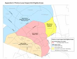 Map Radius About The Pimlico Community Development Authority Department Of