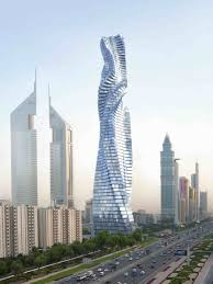 building design the dynamic tower offers infinite design possibilities as each