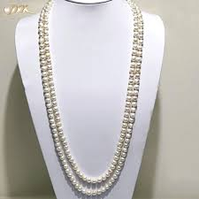 round freshwater pearl necklace images Jyx white round freshwater pearl necklace for women accessories jpg