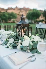 white lantern centerpieces lantern wedding centrepiece wedding flair