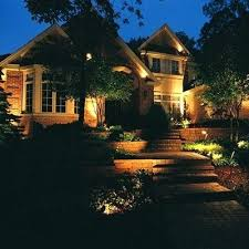 High Voltage Landscape Lighting How To Install Landscape Lighting Low Voltage Use Install Line