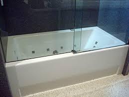 Glass Tub Shower Doors Appealing Glass Shower Doors Tub With Frameless Shower Doors