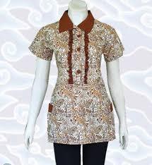 model baju 23 contoh model baju batik atasan terbaru 2017