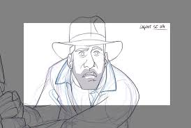 the adventures of indiana jones animated short traditional animation
