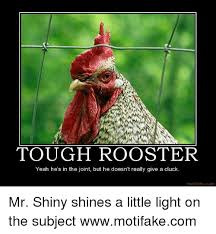 Rooster Meme - tough rooster yeah he s in the joint but he doesn t really give a