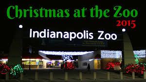 christmas lights at the zoo indianapolis christmas at the zoo indianapolis zoo 2015 youtube
